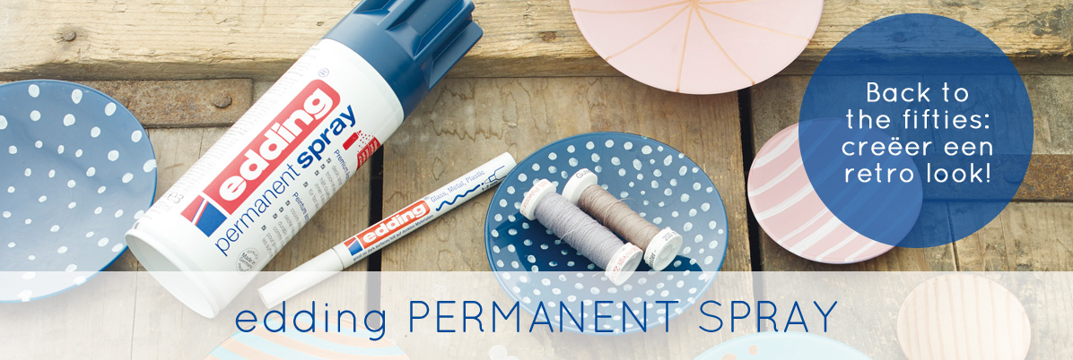 edding permanent spray