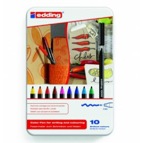 Edding color pennen