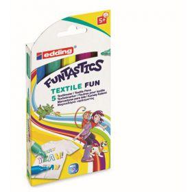 Textiestiften Textiel Fun van Edding