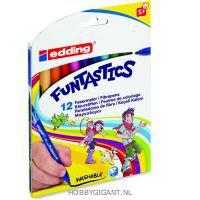 Funtastic kinderstiften van Edding 12 stuks
